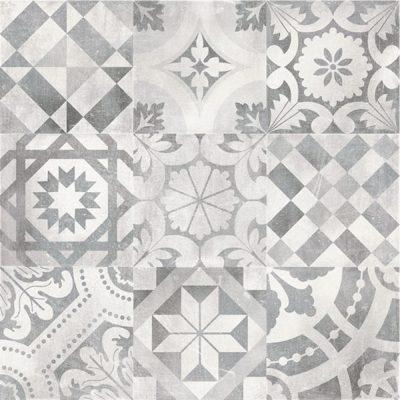 Dekor patchwork grey 60x60 cm