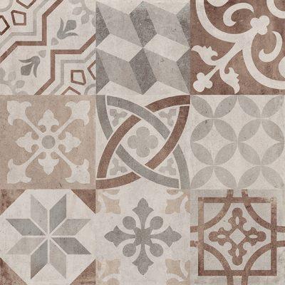 Dekor patchwork warm 60x60 cm